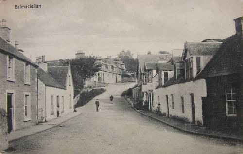 Old Postcard Views In The Stewartry Of Kirkcudbright Parish Ofbalmaclellan
